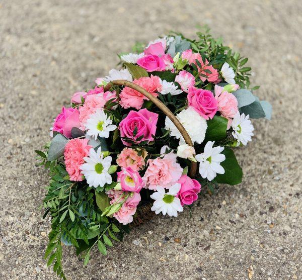 Funeral Flower Basket Delivered