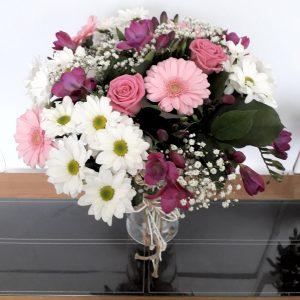 Spring Pink Flower Bouquet