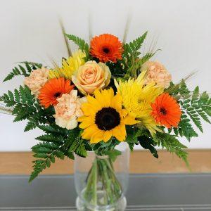 Summer Vase Flower Arrangement